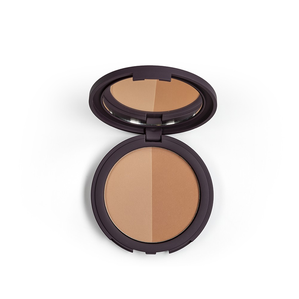 Bronzing Powder Duo Spf 15 Bp1 Auburne Soft